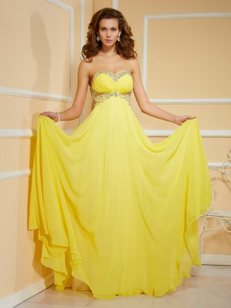 Sheath/Column Sweetheart Ruffles Ruched Dress with Long Chiffon