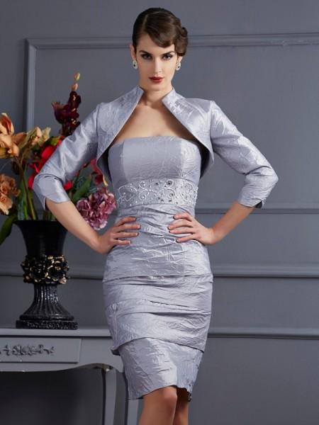 Elegant 3/4 Sleeves Taffeta Special Occasion Wrap