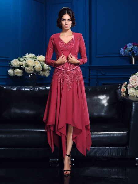 Elegant Chiffon Long Sleeves Applique Special Occasion Wrap
