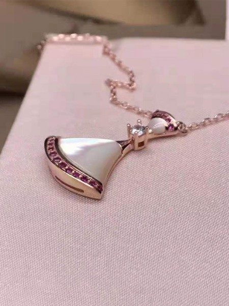 Attractive 925 Sterling Silver With Rhinestone Hot Sale Necklaces