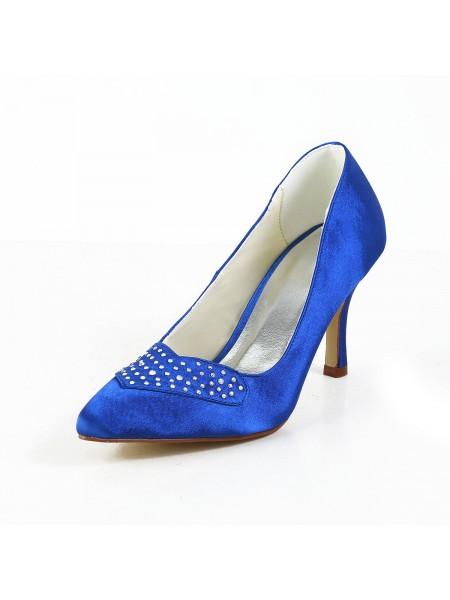 Charming Satin High Heels S5A3115