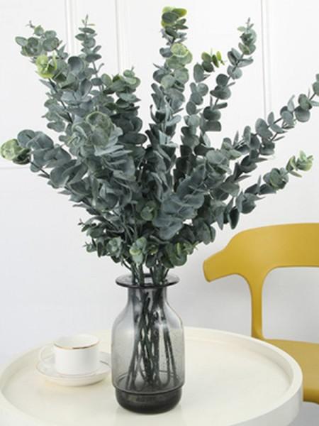 Pretty Artificial Eucalyptus Decorations(2 Bunches)