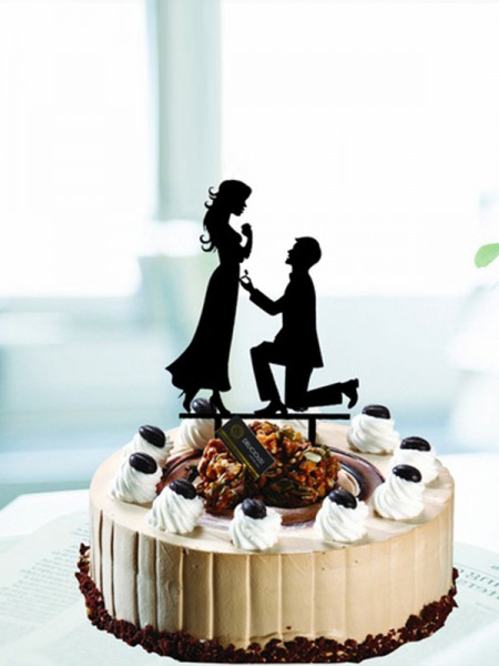 Exquisite Acrylic Cake Topper