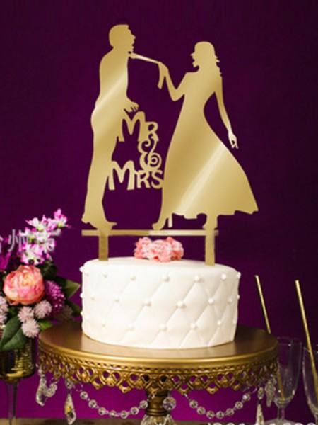 Romantic Acrylic Cake Topper