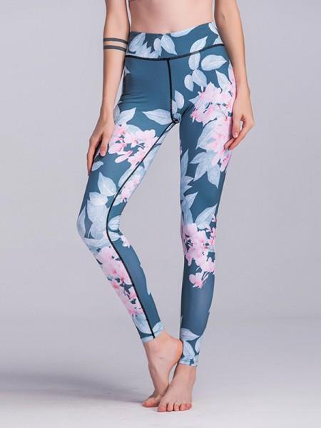 Soft Cotton Print Yoga Pants&Leggings