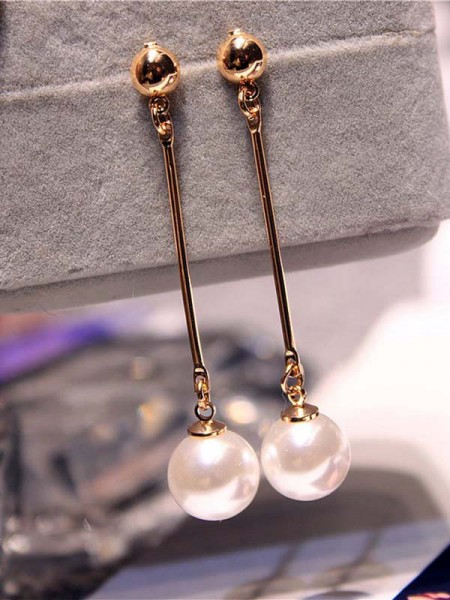 Korean Attractive Imitation Pearl Earrings