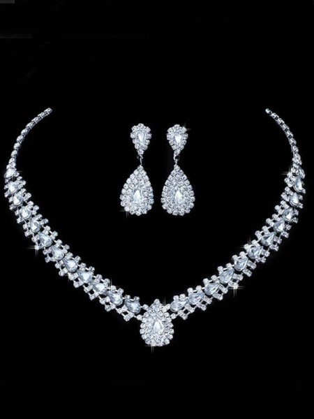 Korean Rhinestone Bridal Hot Sale Jewelry