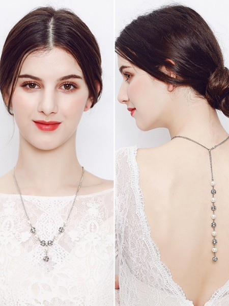 Graceful Pearl Bridal Hot Sale Necklaces
