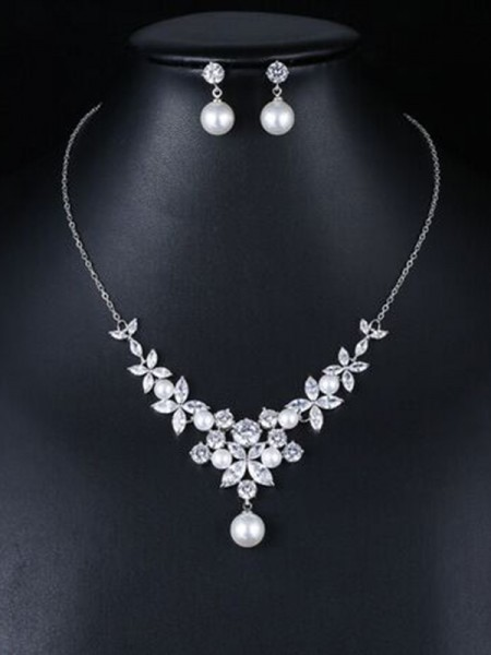 Occident Fashion Zircon Bridal Jewelry