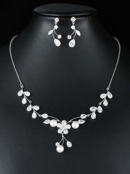 Fashion Occident Zircon Bridal Jewelry