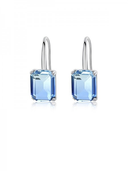 Trending Zircon With Crystal Earrings