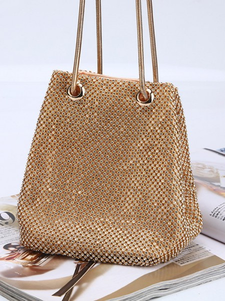 Fashion Hot Drilling Handbags