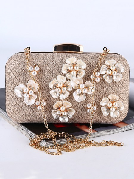 Pretty Pearl Flower Handbags
