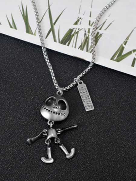 Unique Titanium Hot Sale Alien Necklaces