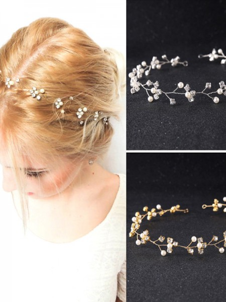 Lovely Czech Pearl Wedding Headpieces