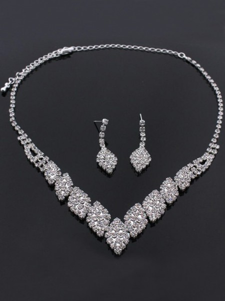 Unique Rhinestone Bridal Jewelry