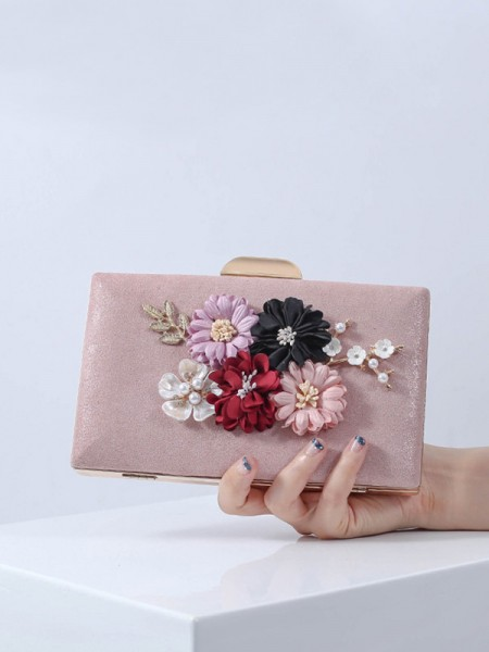 Pretty PU Flower Handbags