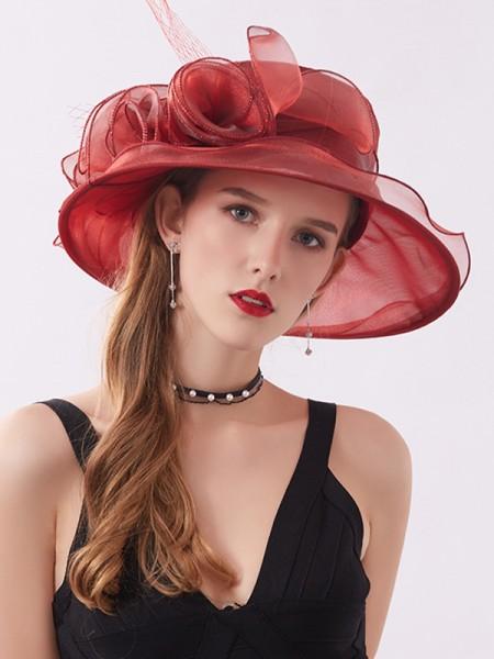 Ladies' Special Silk Flower Kentucky Derby Hats/Tea Party Hats