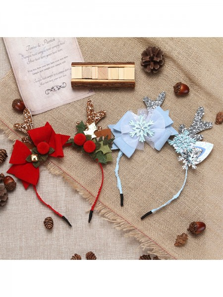 Christmas Trendy Cloth Hairpins