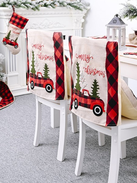 Christmas Lovely Chair Cover