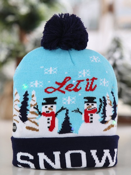 Christmas Lovely Polyester Hats