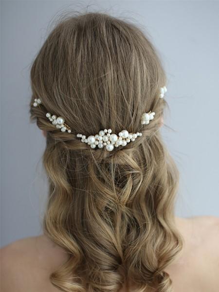 Unique Pearls Headpieces