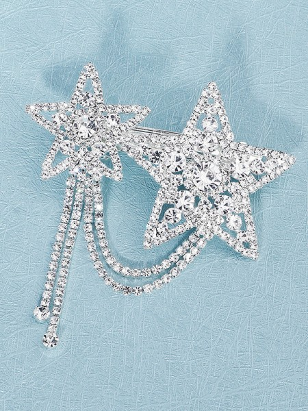 Beautiful Alloy With Rhinestone Hairpins