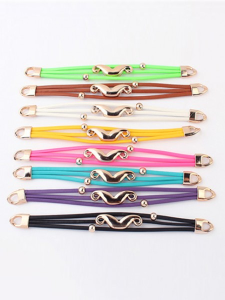Major suit Mustache Bracelets J098218JR