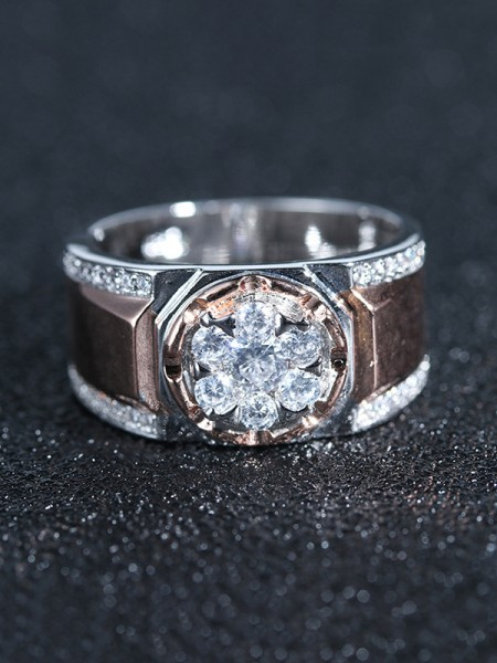 Gorgeous Alloy With Rhinestone Hot Sale Wedding Rings