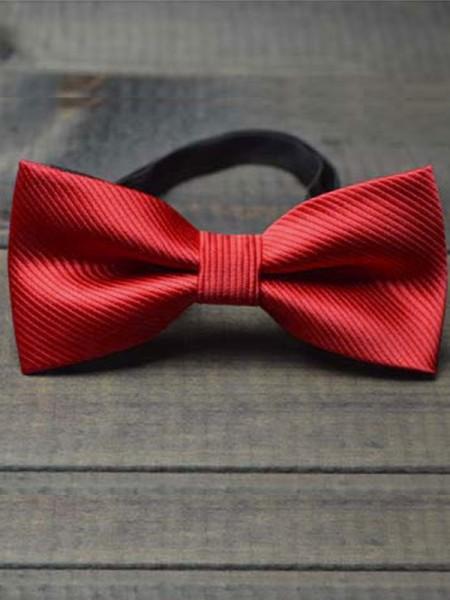 Modern Polyester Bow Tie For Children