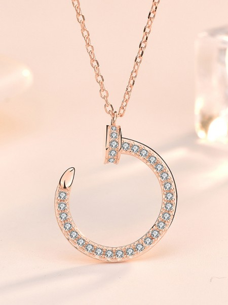 Classic S925 Silver With Zircon Hot Sale Necklaces