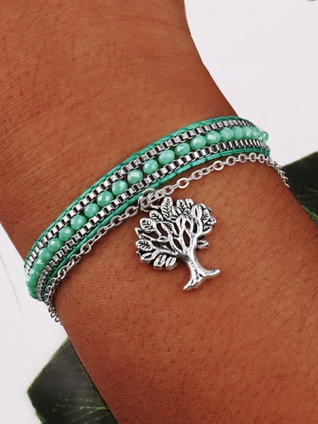 Personality Alloy With Ornament Hot Sale Bracelets(2 Pieces)