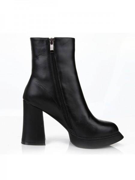 Black Boots S5MA0360LF