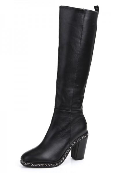 Black Boots S5MA0369LF