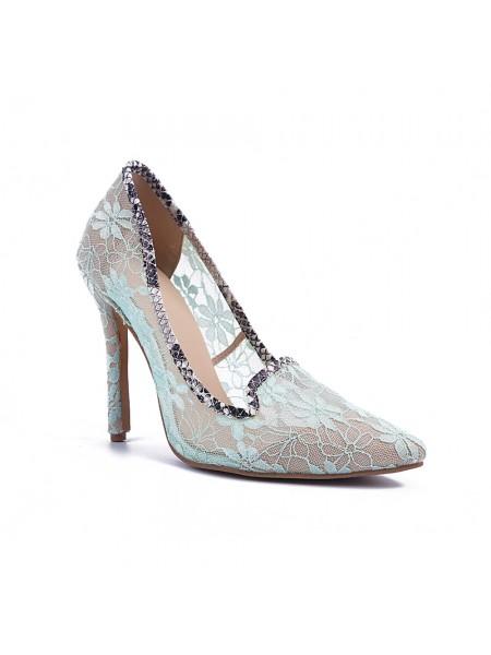 Lace High Heels S5MA04143LF