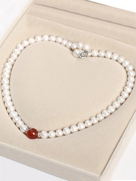 Graceful Pearl Hot Sale Necklaces For Mother