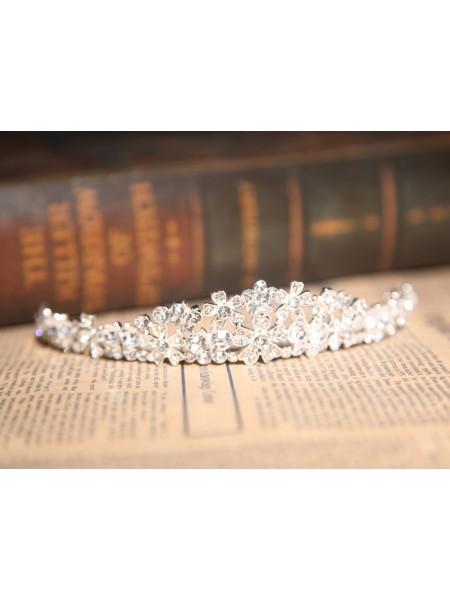 Stunning Clear Crystals Wedding Headpieces