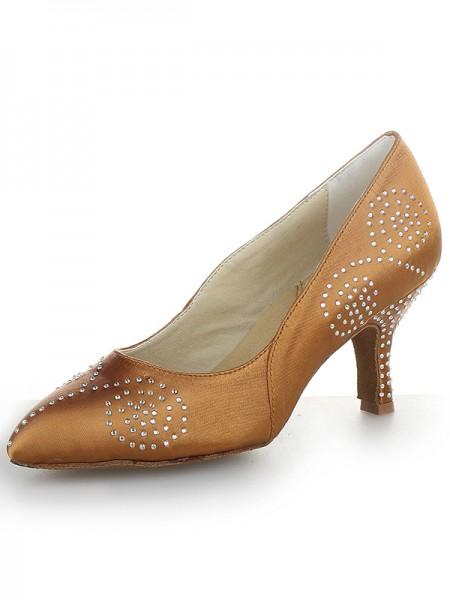 Satin Cone High Heels SW162461I