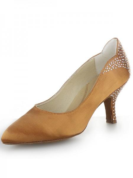 Cone Satin High Heels SW162491I