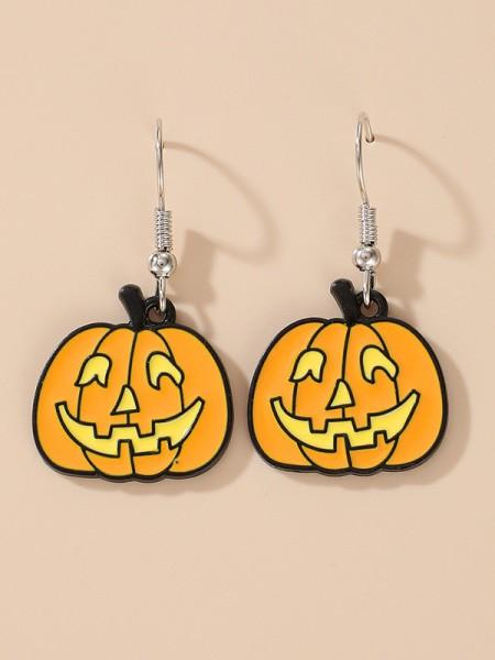 Halloween Stunning Alloy With Pumpkin Earrings