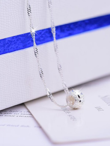 Pretty 925 Sterling Silver Hot Sale Necklaces For Women