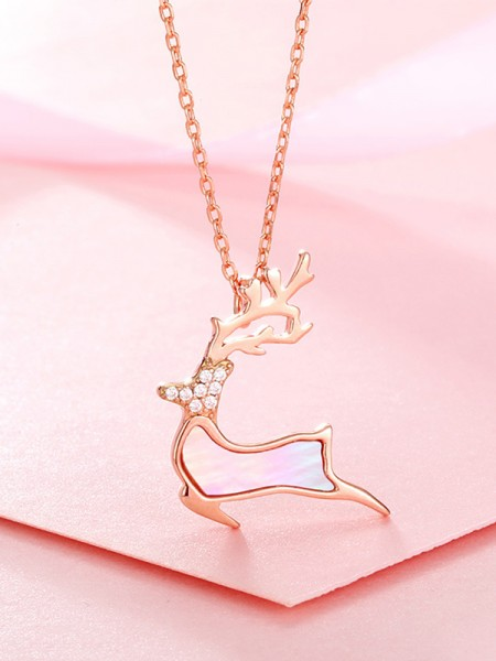 Classic S925 Silver With Rhinestone Hot Sale Necklaces